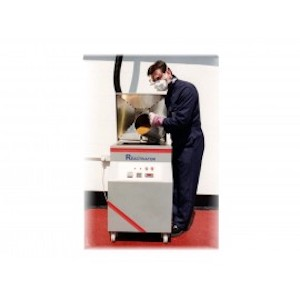 A Man Operating Desiccant Reactivation Unit To Recover Desiccant