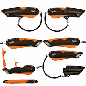 Showing Different Angles and Functions of the Easy-Cut 1500 Safety Cutters
