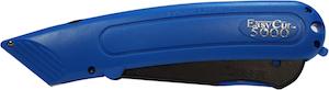 A Blue Easy-Cut 5000 Safety Cutter