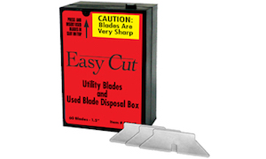 A Box Of Easy-Cut Standard Replacement Blades