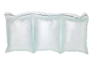 Three White Colour Inflatable Air Pillows With EZ-Tear Perforations