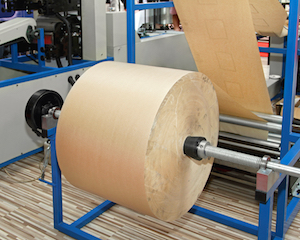 Automatic Kraft Paper Void Fill Machine With Lofted And Crimped Design To Reduce Waste