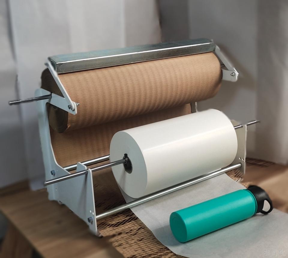 Automatic Kraft Paper Void Fill System With Patented Tear Assists And No Blades