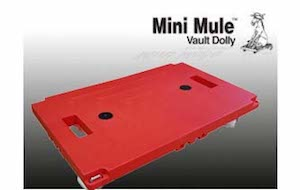 A Red Mini Mule Dolly