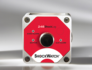 A Shocklog® 248 With USB And Ibutton® Data Transfer Options And User-Definable Warning And Alarm Levels