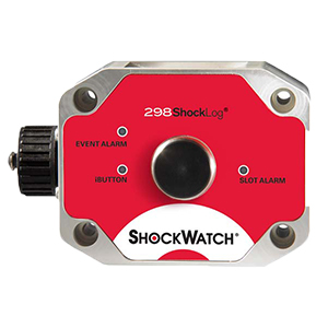 A Shocklog® 298 With USB And Ibutton® Data Transfer Options And User-Definable Warning And Alarm Levels