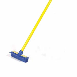 A Yellow Smart Broom