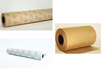 Rolls Of VCI Paper (Alumitex), VCI Paper (Coppertex) and VCI Paper (Silver Saver)