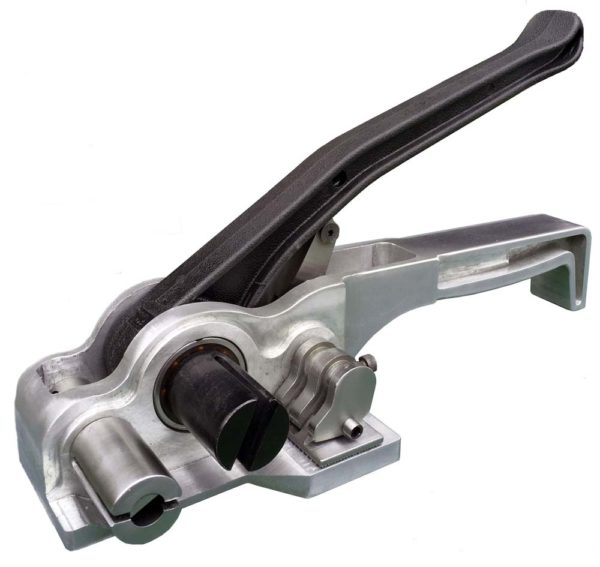 A Black And Silver Battery Operated Tensioner